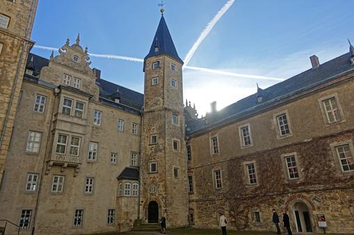 Innenhof des Schlosses von Wolfsburg