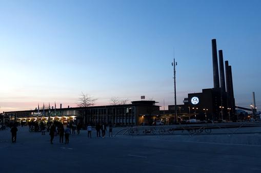 Bahnhofsromantik am Wolfsburger Hbf.