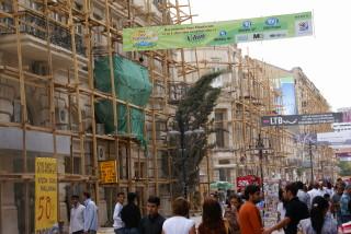 Finanzkrise? In Baku wird immer (noch) gebaut