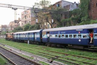 Dehli - Old Delhi Bahnhof
