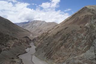 Wanderung am ersten Tag durchs Tal des Indus'