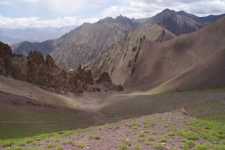 Abstieg vom Stok La (4.875 m)
