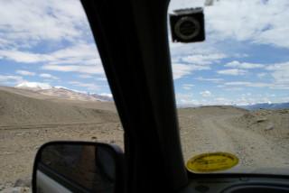 Weiterfahrt auf der Jeep-Piste