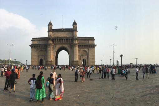 Abfahrt in Mumbai