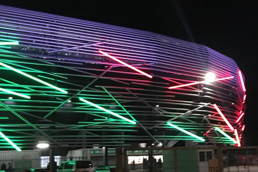 Die Jedi-Schwert-Arena zu Augsburg