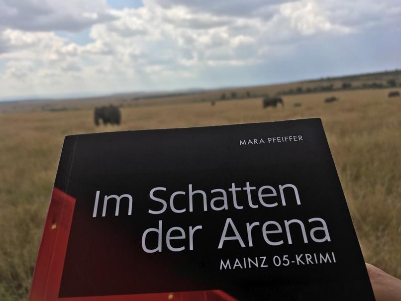 Ein Werk von Mara in der Masai Mara