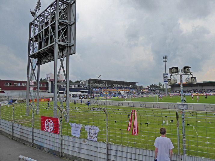 Der Gästeblock in Kiel