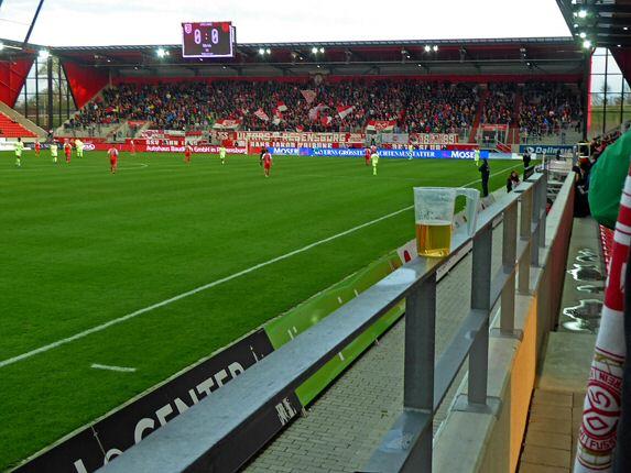 Unstressiges Fußball gucken in Regensburg