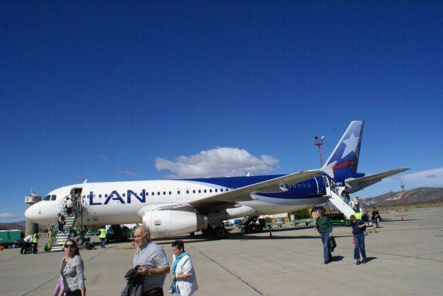 Ankunft mit LAN Argentinia in Bariloche