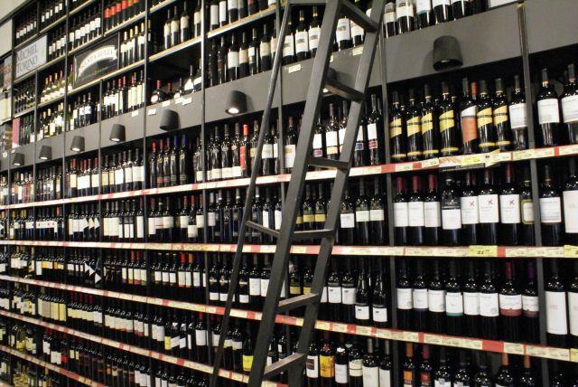 Weinparadies Argentinien: Supermarkt in Bariloche