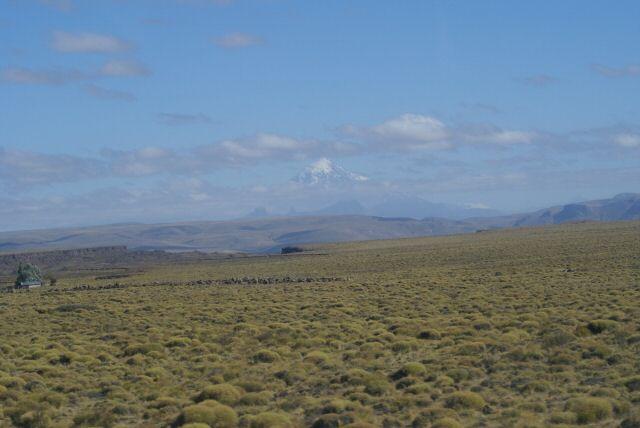 Abschied von den Anden, La Pampa und Argentinien