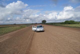 Unser VW Gol in der argentinischen Pampa