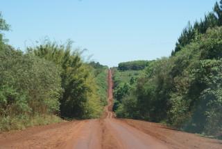 Nebenstraße in der Provinz Misiones
