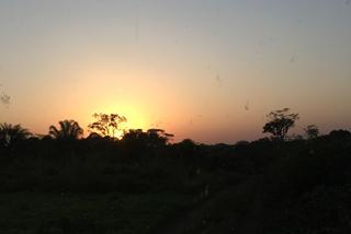 Kurz vor Sonneuntergang scheint das Ziel erreicht