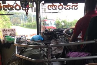 Rückfahrt mit dem Bus nach Haputale
