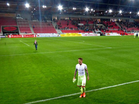 Niki Zimling nach dem Spiel in Regensburg