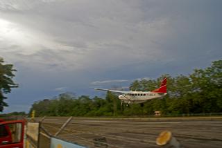 Abflug von Puerto Jiménez nach San José