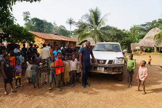 Saidhu, unser Fahrer, ist in Mapuma angekommen