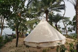 Glamping auf den Banana Islands