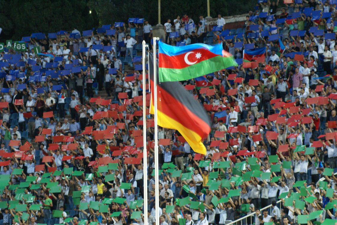 Auswärtsspiel in Baku 2009