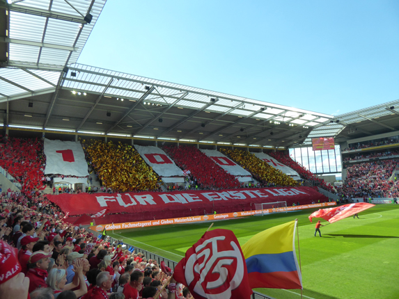 Stadion am Europakreisel in Mainz