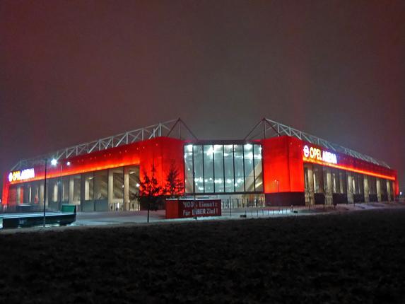 Stadion am Europakreisel in Mainz