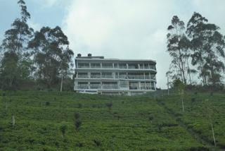 Unser Hotel in den Teeplantagen Haputales