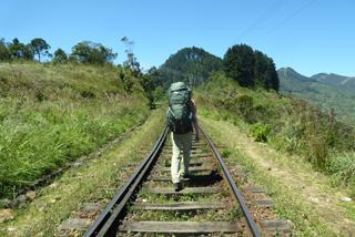 """""""Wanderweg"""" auf Sri Lanka"""