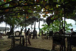 Frühstücken am Strand von Tangalle
