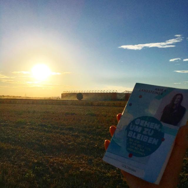 Erst der Sonnenuntergang, dann das Vergnügen, das Buch weiterzulesen